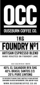 Image of FOUNDRY No.1 ESPRESSO BLEND (1KG)