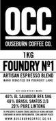 Image of FOUNDRY No.1 ESPRESSO BLEND (1KG)
