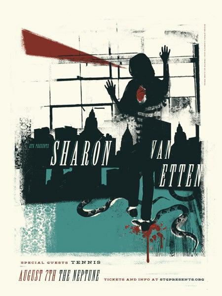 Image of Sharon Van Etten Poster