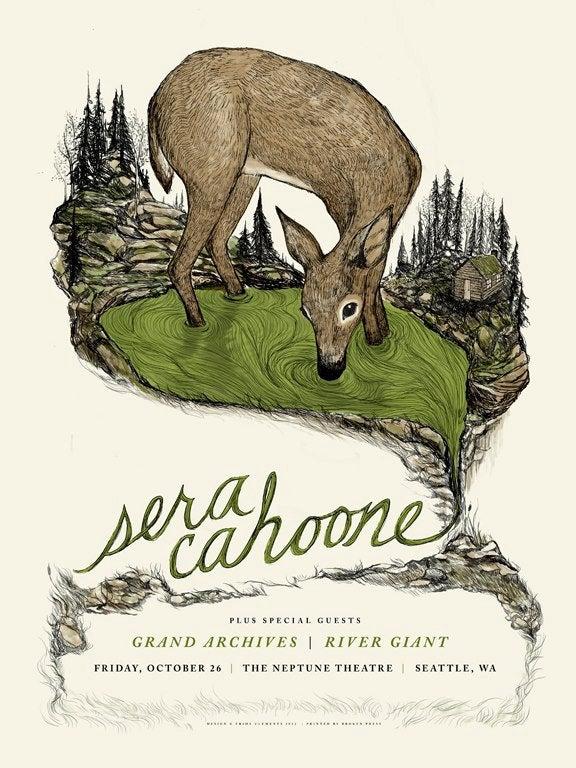 Image of Sera Cahoone Poster