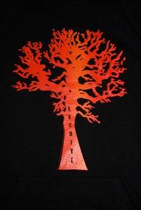 Image of Sunburst 60's Tree Hoodie Dress!!!!!