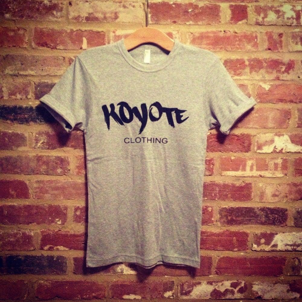 Image of Koyote Clothing Print Grey Tee