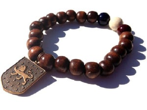 Image of Leonidas Bracelet or Set {dark brown}
