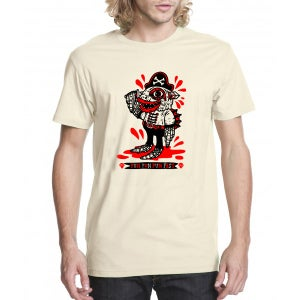 "Image of FFF ""Ride The Plank"" mascot T"