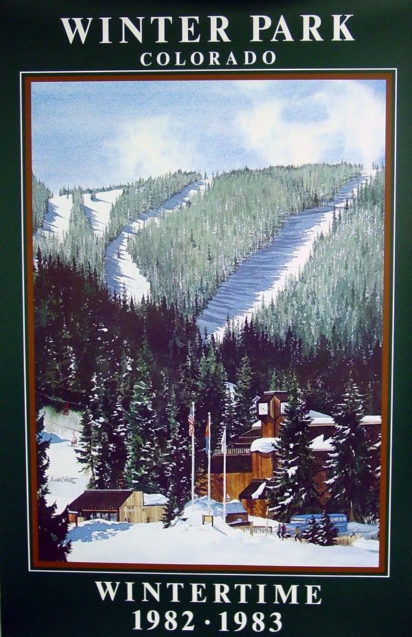 Image of 1982 - 1983 Winter Park Resort Vintage Poster