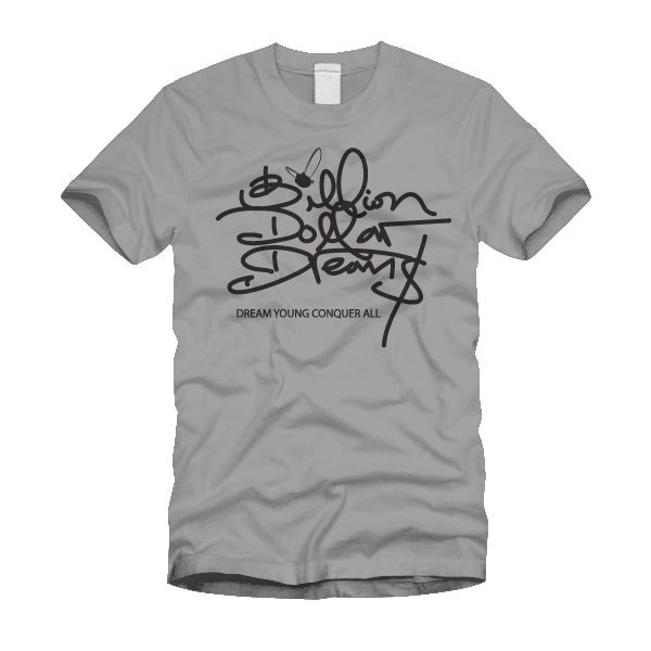 "Image of ""BILLION DOLLAR DREAM$"" SPORTS GREY/TEE"