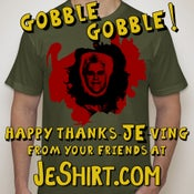 Image of HAPPY THANKSGIVING from JeShirt.com
