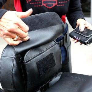 Image of The Bone® POCKET (for driver) Backrest pouch» '09-'17 backrest models BC#106007