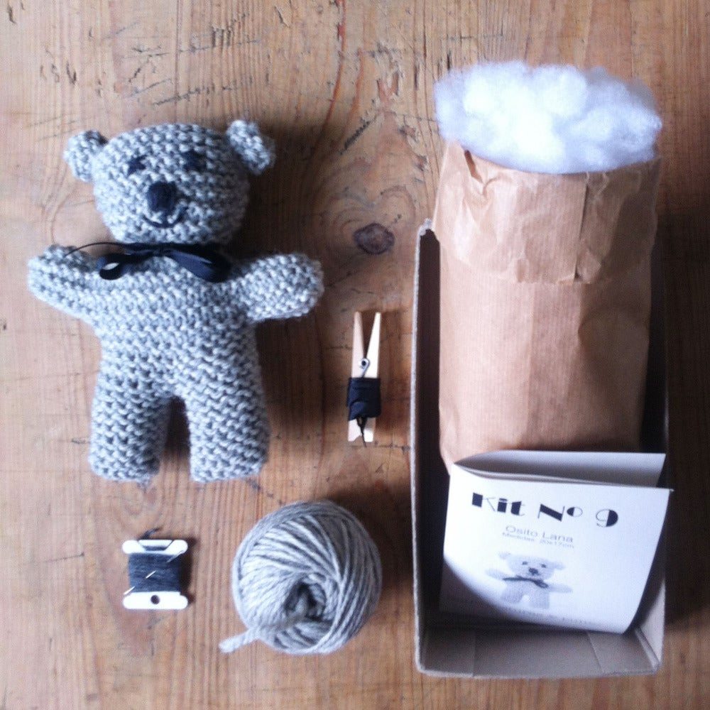 Image of KIT nº 9 Oso de lana