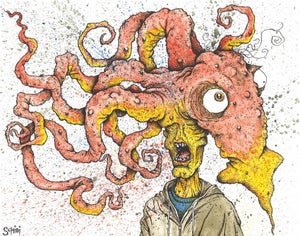 Image of 'The Mouth Breather' print