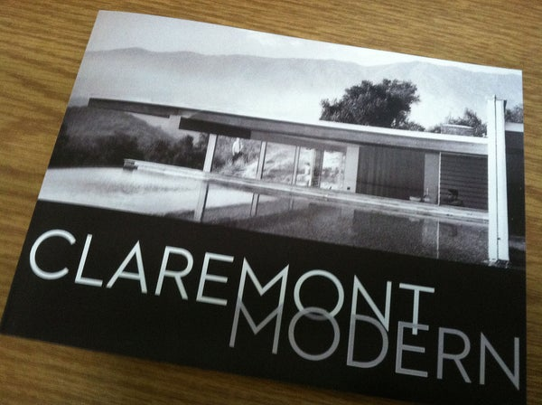 Image of BOOK - Claremont Modern Catalog