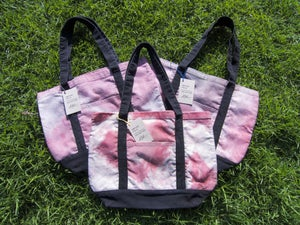 Image of UFC / ALR HAND DYED TOTE BAG - PINK TONES