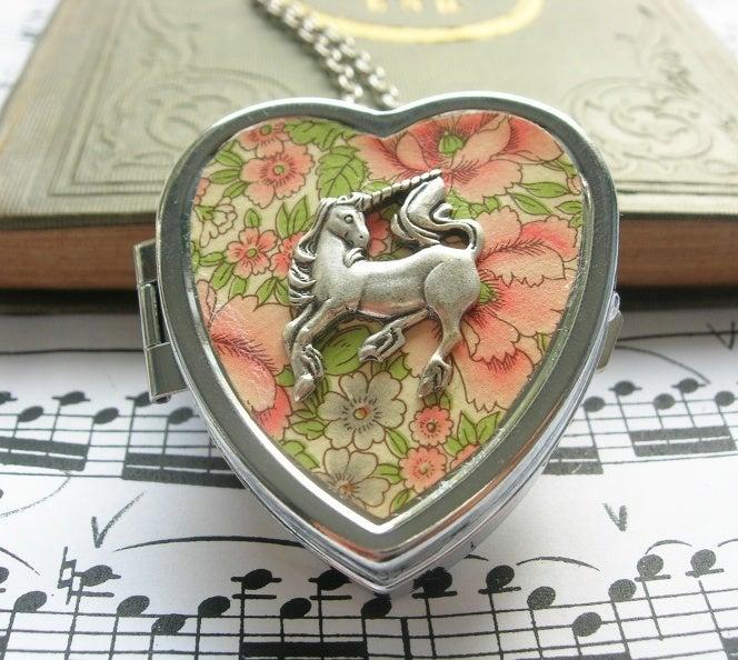 Image of Little Unicorn Music Box Locket