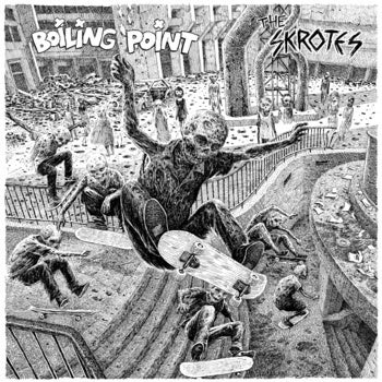 """Image of The SKROTES / BOILING POINT split 7"""""""