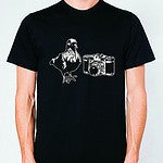 Image of Pigeon Camera T-Shirt