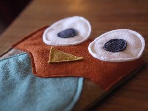 Image of Mr Albert Owl iPad mini Case