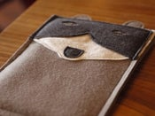 Image of Mr. Archibald Raccoon iPad mini Case