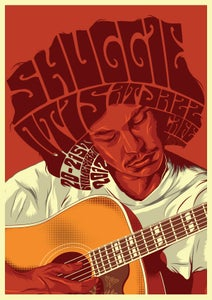 "Image of ""Shuggie Otis At Jazz Cafe"" A3 Gig Poster"
