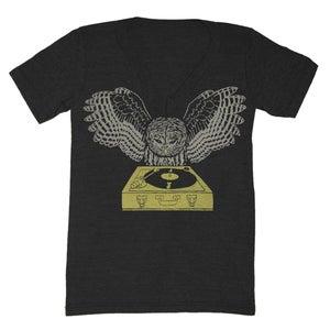 Image of V-Neck DJ Owl