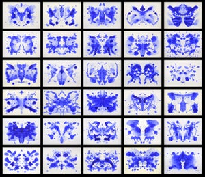Image of Martha Klein's Inkblot (No.1-30)