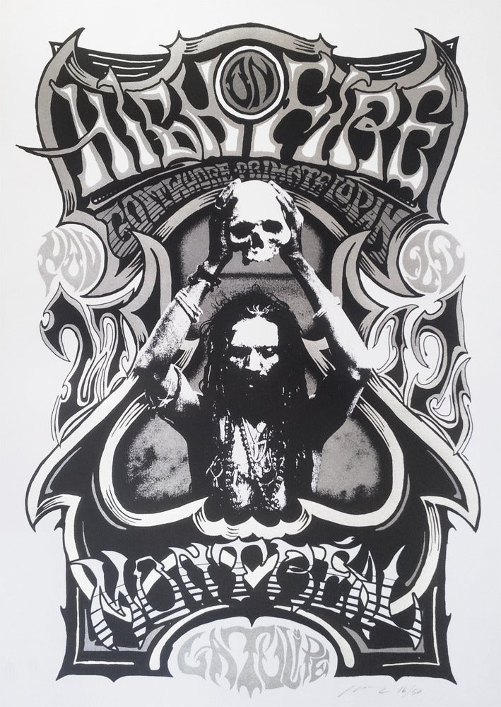 Image of ONLY 2 LEFT - High on Fire - Montreal 2012 - Silkscreen Poster