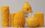 Image of ΒΙΟΛΟΓΙΚΑ ΚΕΡΙΑ ΜΕΛΙΣΣΑΣ-ORGANIC BEE CANDLES