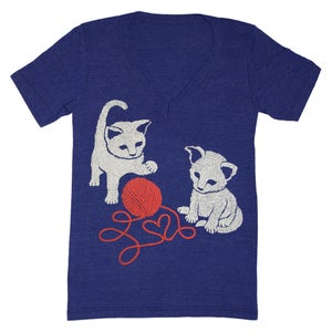 Image of V-Neck Kittens