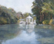 Image of Piedmont Park Pond 16 x 20
