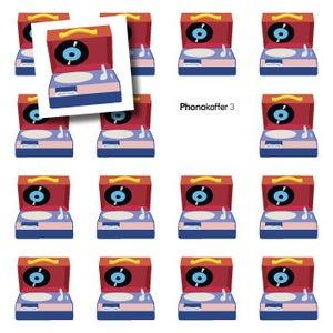 Image of Phonokoffer 3 mit Sticker
