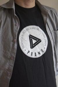 Image of PRAMU Emblem Shirt - Black
