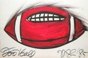 Image of Football drawing, 1985