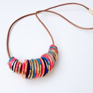 Image of Disk Necklace