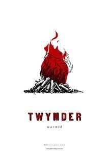 Image of fforest cymraeg prints: 'twymder'