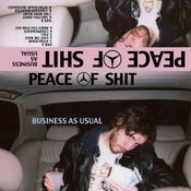 "Image of Peace of Shit-""Business As Usual"" cassette"