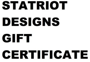 Image of Statriot Gift Certificate