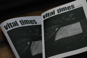 Image of Vital Times Zine #1
