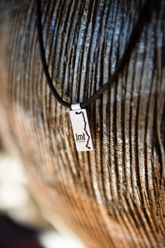 "Image of ""The Trail"" - JMT Necklace by Tarma Designs"