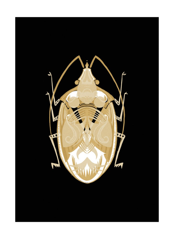 Image of Beetle #1 Gold