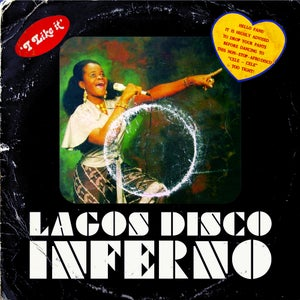 Image of VARIOUS ARTISTS - Lagos Disco Inferno CD