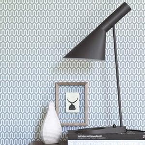 Image of Papel pintado Scandinavian designers by Arne Jacobsen Geometrico