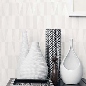 Image of Papel pintado Scandinavian designers by Sven markelius Geometrico neutro