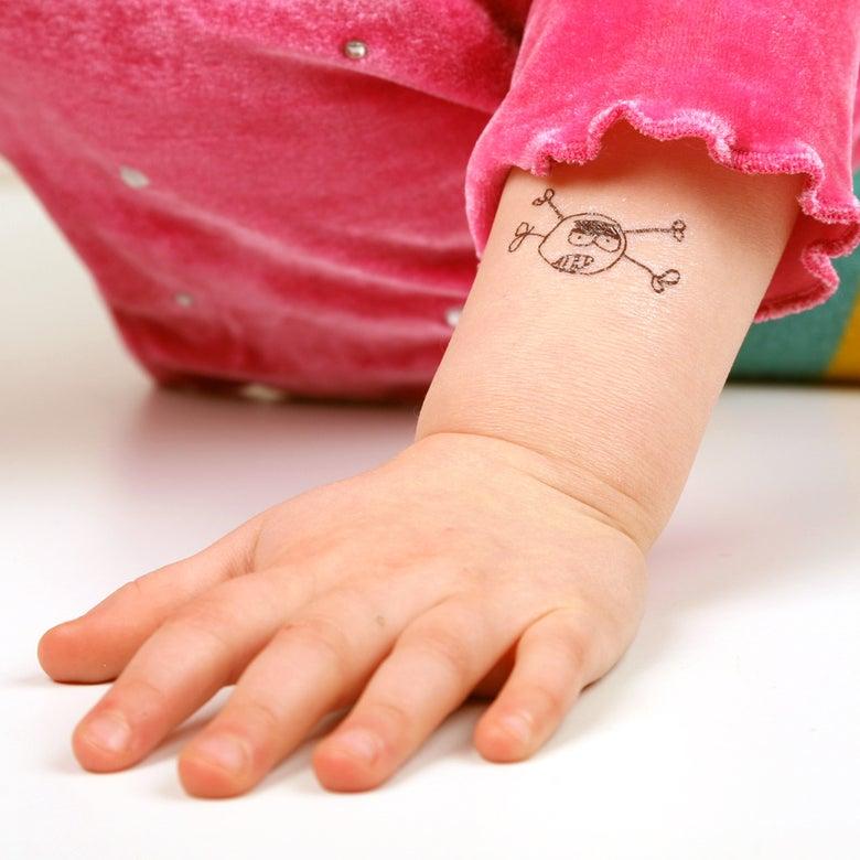 Image of Tatoo/Tatuering Yorrik