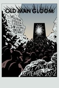 Image of OLD MAN GLOOM - 9/3/2012 screen print poster