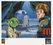 "Image of ""Found Someone You Have"" Empire Strikes Back 30th Anniversary Remarque AP Print"