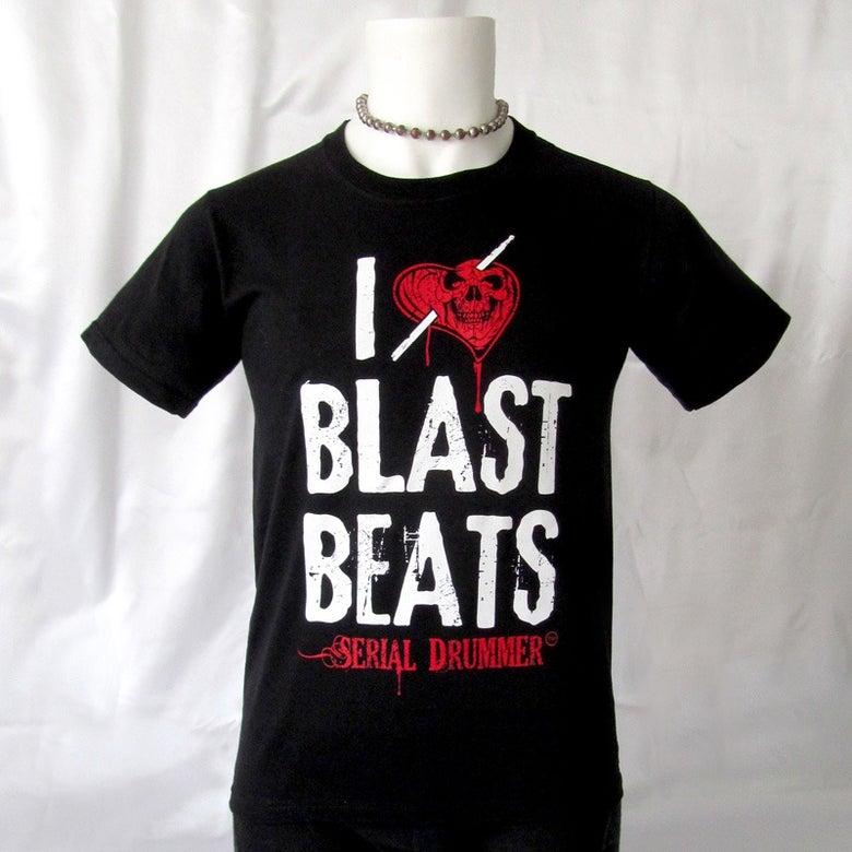 Image of Tee-Shirt I LOVE BLAST BEATS