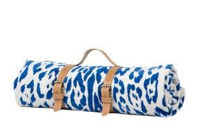 Image of Marine Jaguar Hide Beach Towel - Classic strap
