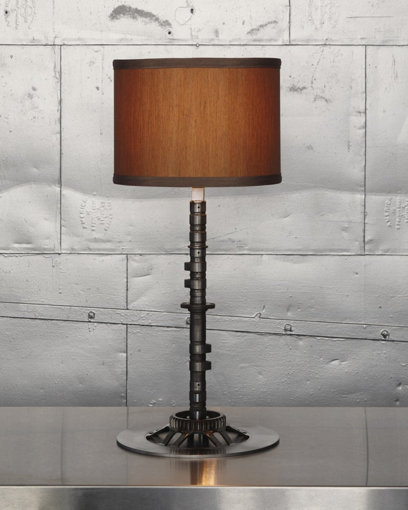 Image of Classified Moto Camshaft Lamp