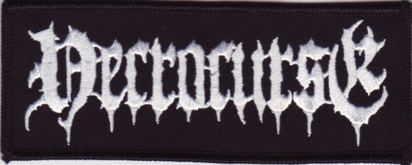 Image of NECROCURSE Quality Woven Patch