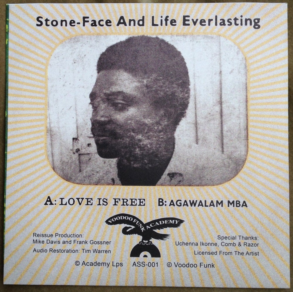 Image of ASS-001 STONEFACE & LIFE EVERLASTING
