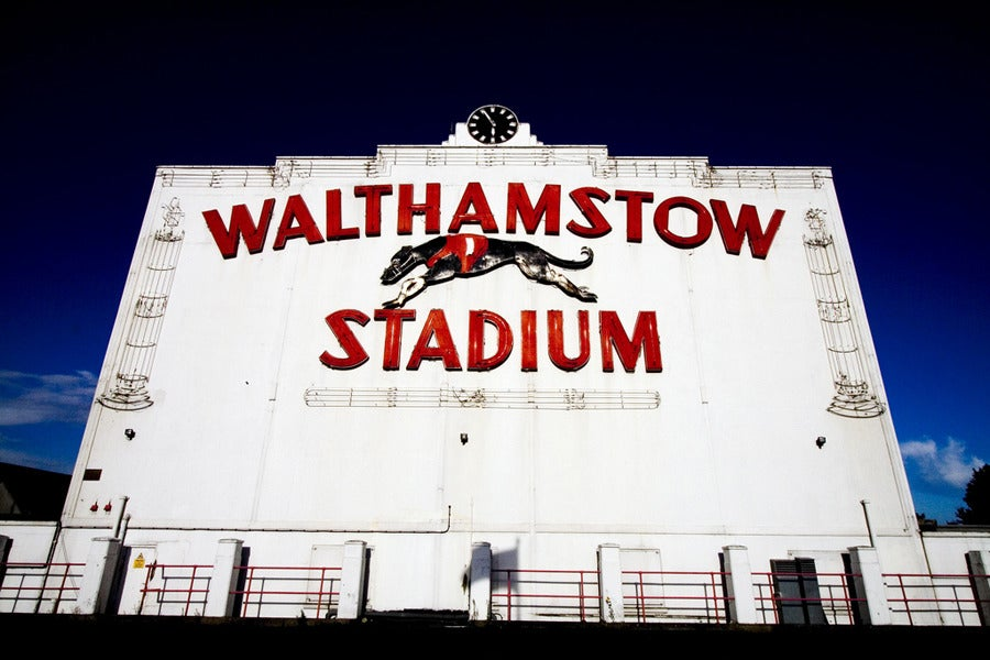 Image of Walthamstow Stadium facade